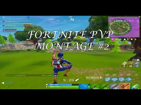 Fortnite PvP Montage – Can't Wait For Season 3 – #2