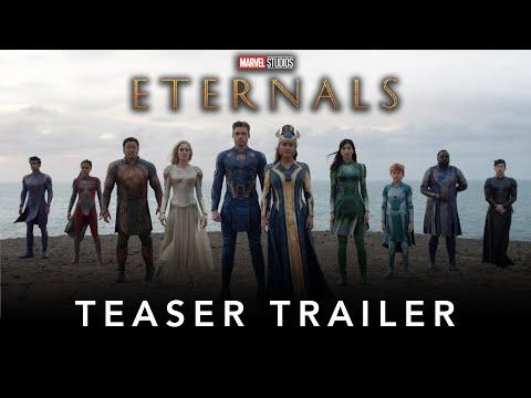 "MARVEL STUDIOS DEBUTS TEASER TRAILER FOR ""ETERNALS"""