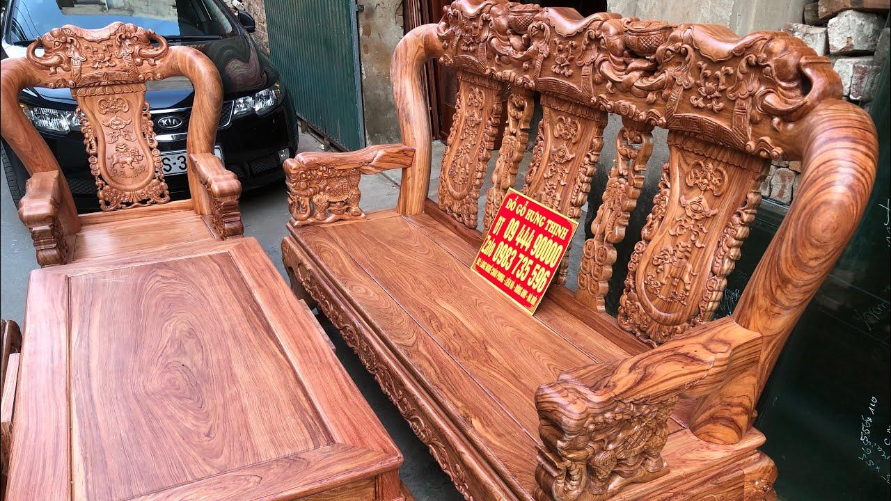 Bộ ghế quốc voi gỗ hương chất lượng đẹp 0944490000-0983735596
