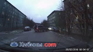 ДТП в больничном городке Мурманска