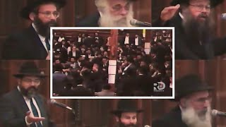 Encounters with the Rebbe's Father - Emotional Chof Av Farbrengen (5752)