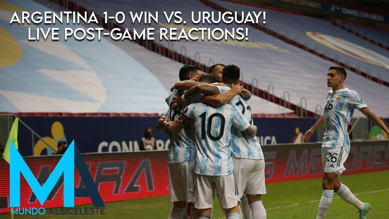 Argentina vs. Uruguay score: Live Copa America updates as Lionel ...