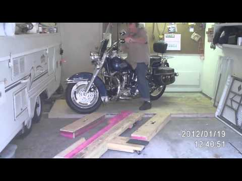 Homemade Motorcycle Dolly Doovi