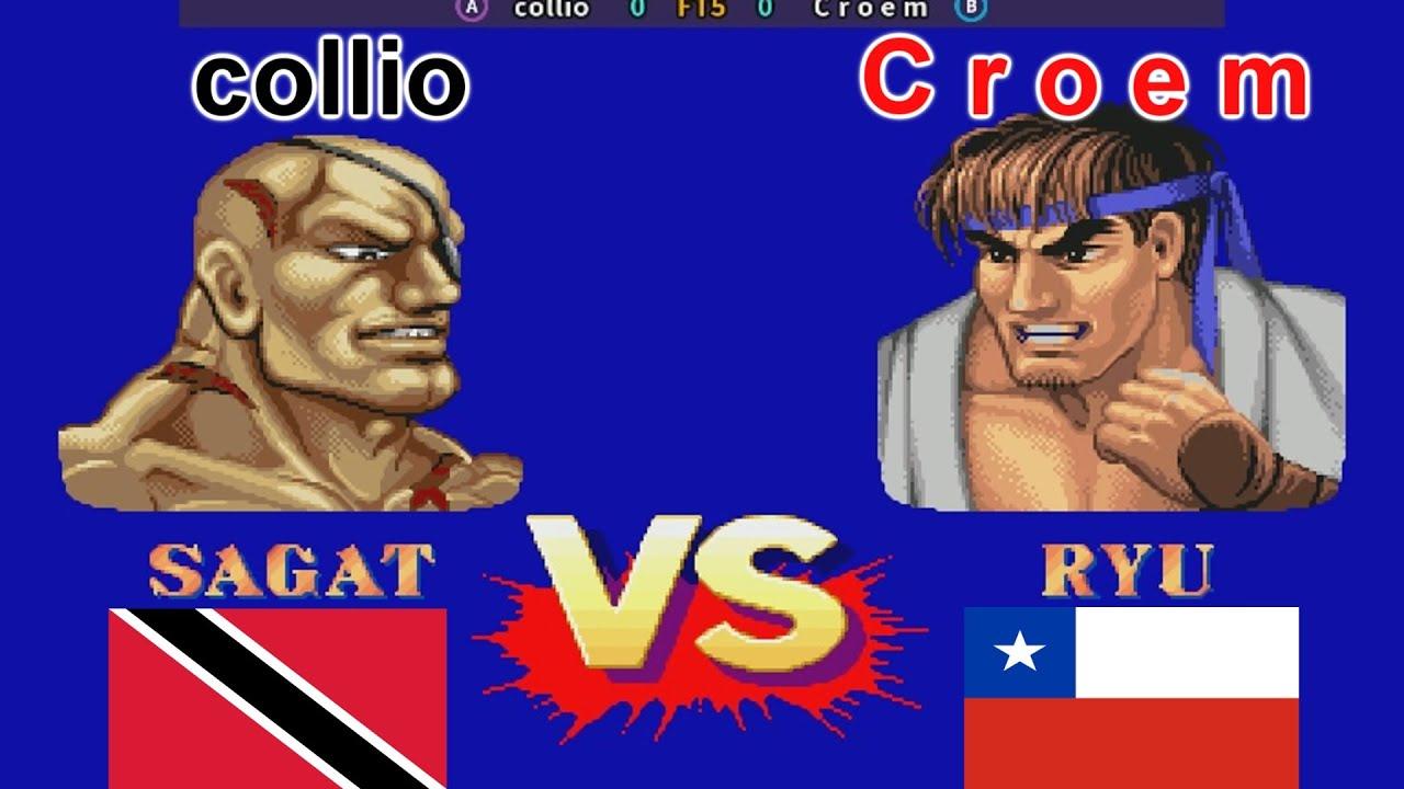 Street Fighter II': Champion Edition - collio vs C r o e m FT5