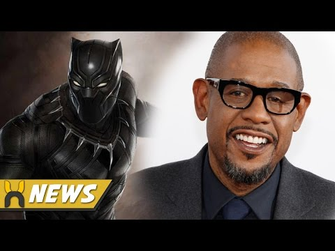 Black Panther Casts Forest Whitaker and More!