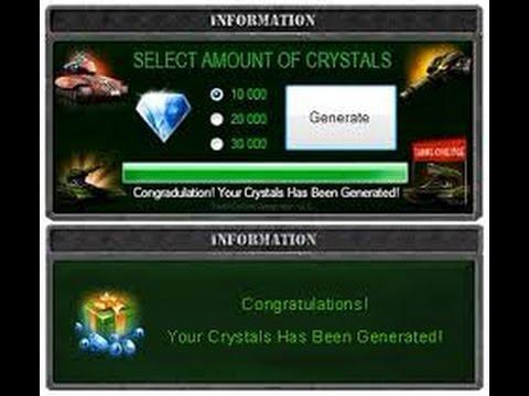 tanki online crystal generator no download or survey