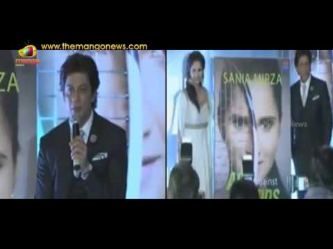 SRK Reveals His Secret Of Success At Sania Mirzas Autobiography Ace Against Odds Launch | MangoNews