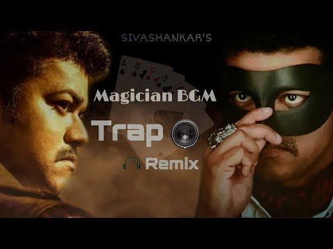 Mersal - Magician BGM Remix - Trap🔥| Vijay | A R Rahman | Atlee ( Official Audio )