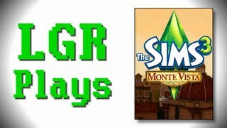 LGR Plays - The Sims 3 [Monte Vista]
