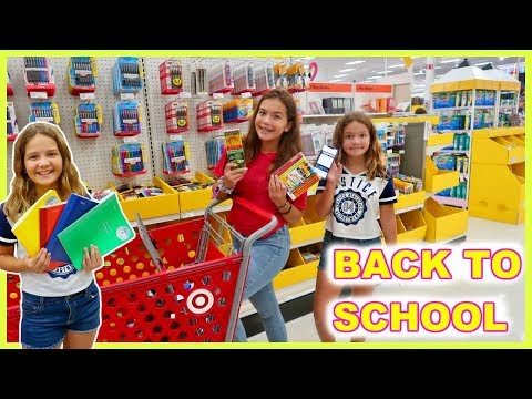 BACK TO SCHOOL SHOPPING | SISTER FOREVER