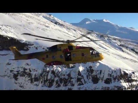 RCAF SAR CH149 103 Sqn Iceland 2016