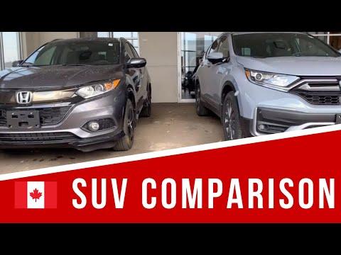 Honda SUV Comparison Canada - CR-V Vs HR-V