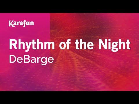 Karaoke Rhythm Of The Night - DeBarge *