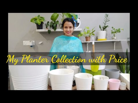 Exotic Planters with Price/Planter collection in Telugu /Pots for Indoor plants#Planter#Pots