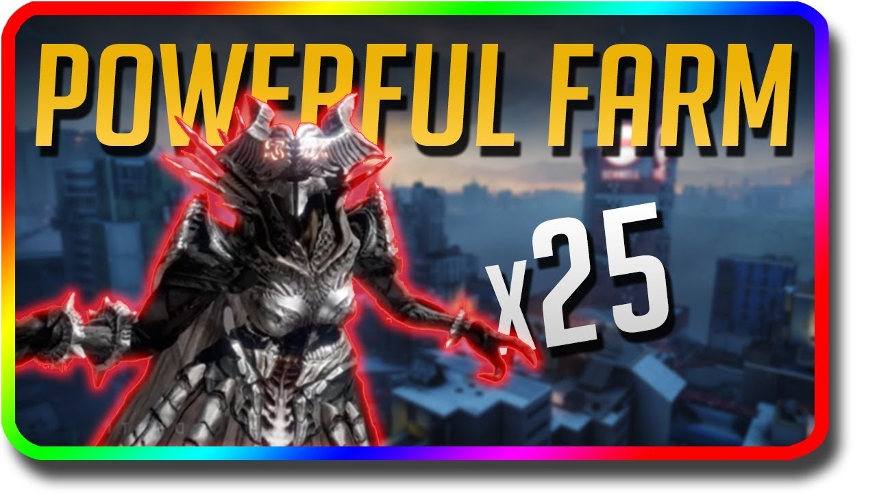 Destiny 2 - Fast Powerful Enemies Farm (Black Armory Weapon Frame Farming  Strategy)