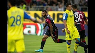 Cagliari-ChievoVerona 2-1, gl highlights