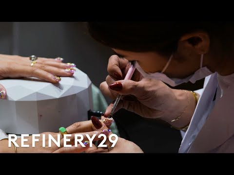 I Tried A 3-Hour Japanese Manicure | Beauty With Mi | Refinery29