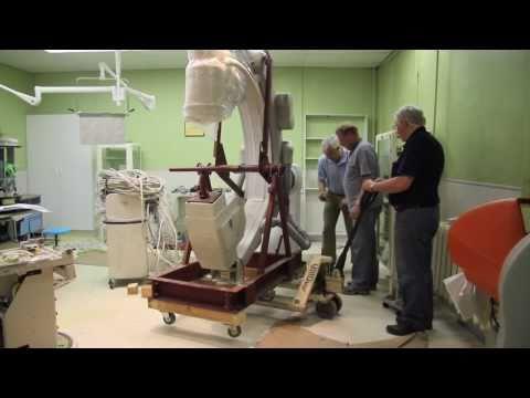 Shastin Hospital Cardiac Cath Lab Installation