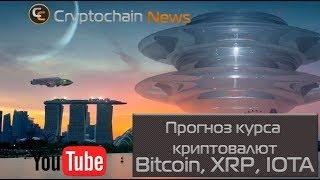 Прогноз курса криптовалют Bitcoin, XRP, IOTA  Создание криптовалютного портфеля