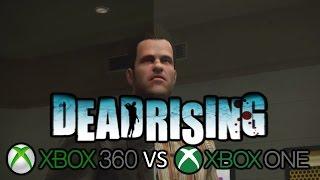 Dead Rising 1 Xbox 360 vs Xbox One Cutscene Comparison