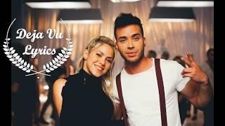 Deja vu Lyrics with English Translation - Prince Royce ft  Shakira