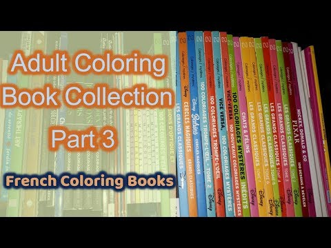 Adult Coloring Book Collection | Part 3