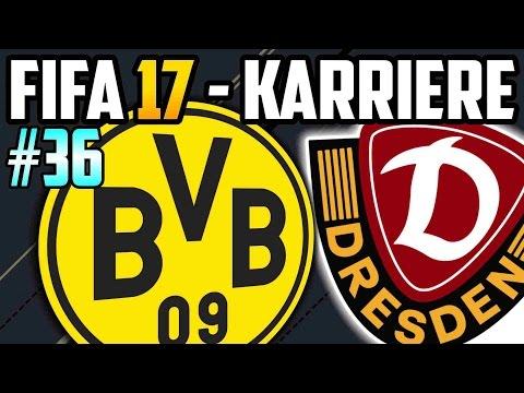 Rückrundenstart gegen Dortmund - FIFA 17  Dresden Karriere: Lets Play #36