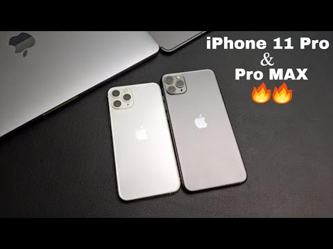 IPhone 11 Pro & 11 Pro Max REAL DUAL-SIM Unboxing & Quick Review