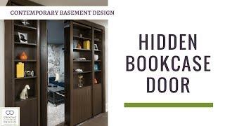 Hidden Bookcase Door to Secret Gaming Room