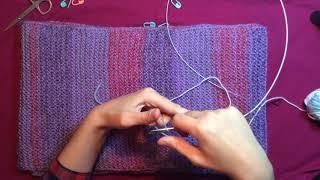 Урок 1. Вязание спицами. Набор петель