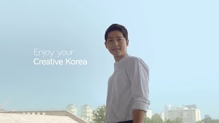 160809 송중기 출연 한국관광공사 공식 TVC (60s) - Song Joong Ki  2016 Korea Tourism Official TVC