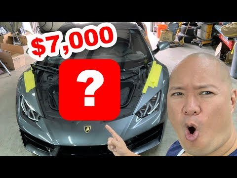Modifying the Lamborghini Huracan with a $7,000 part!
