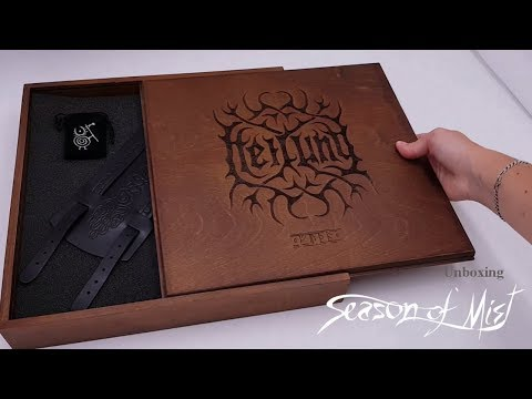 "Heilung - Unboxing limited edition ""Futha"" wooden box"