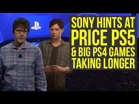 Sony Hints At PlayStation 5 Price, The Last Of Us 2 Likely Not In 2019 & Way More News (PS5 News)