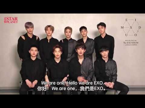 [EXO MASSEGE TO MALAYSIAN EXOL ] EXO'RDIUMINKUALALUMPUR
