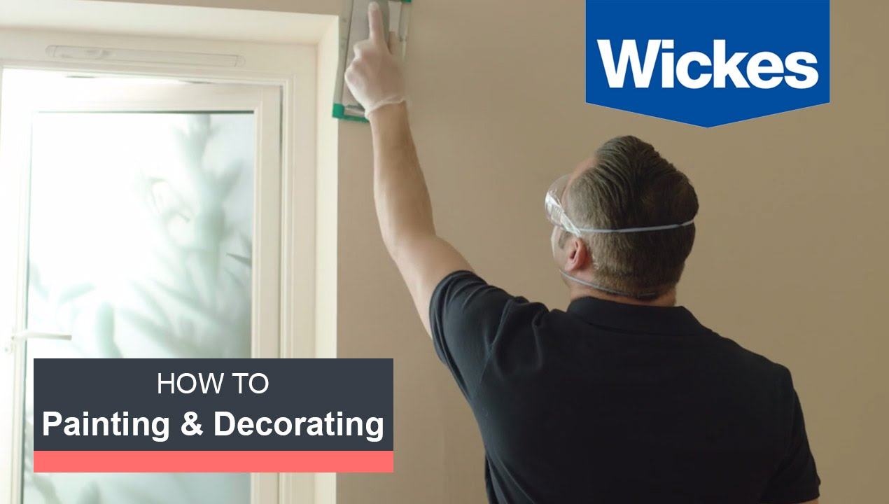 How To Prepare Walls Ceilings For Painting With Wickes Youtube