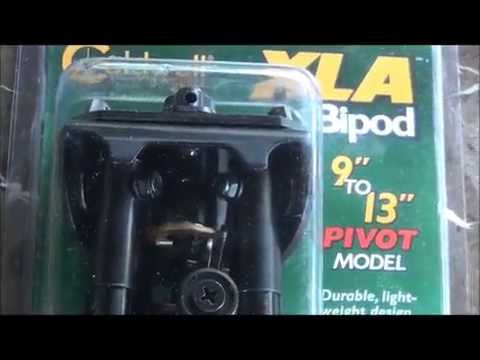 How To Install A Caldwell XLA Bipod