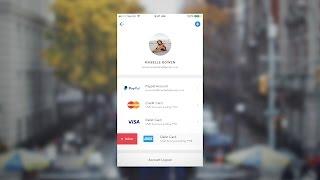 Sketch - Payment Method UI Design Timelapse