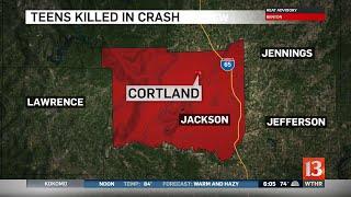 Teens killed in Jackson Co. crash 6:00