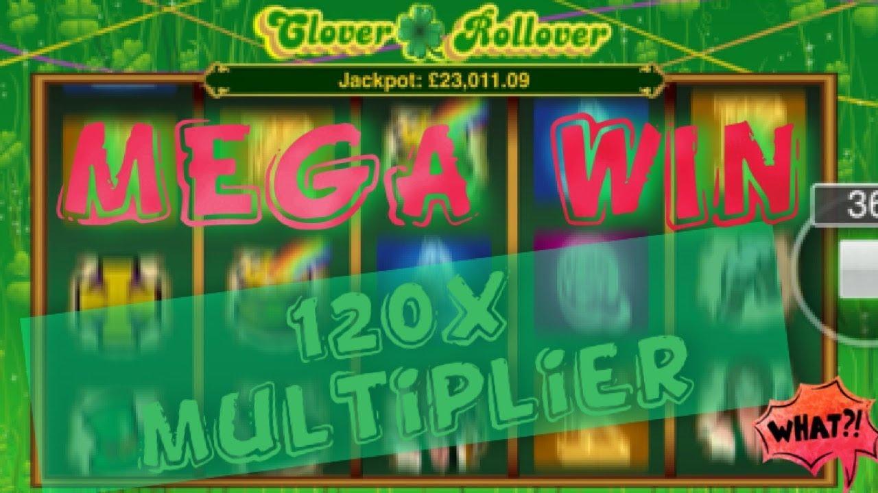 Clover Rollover MEGA WIN - YouTube