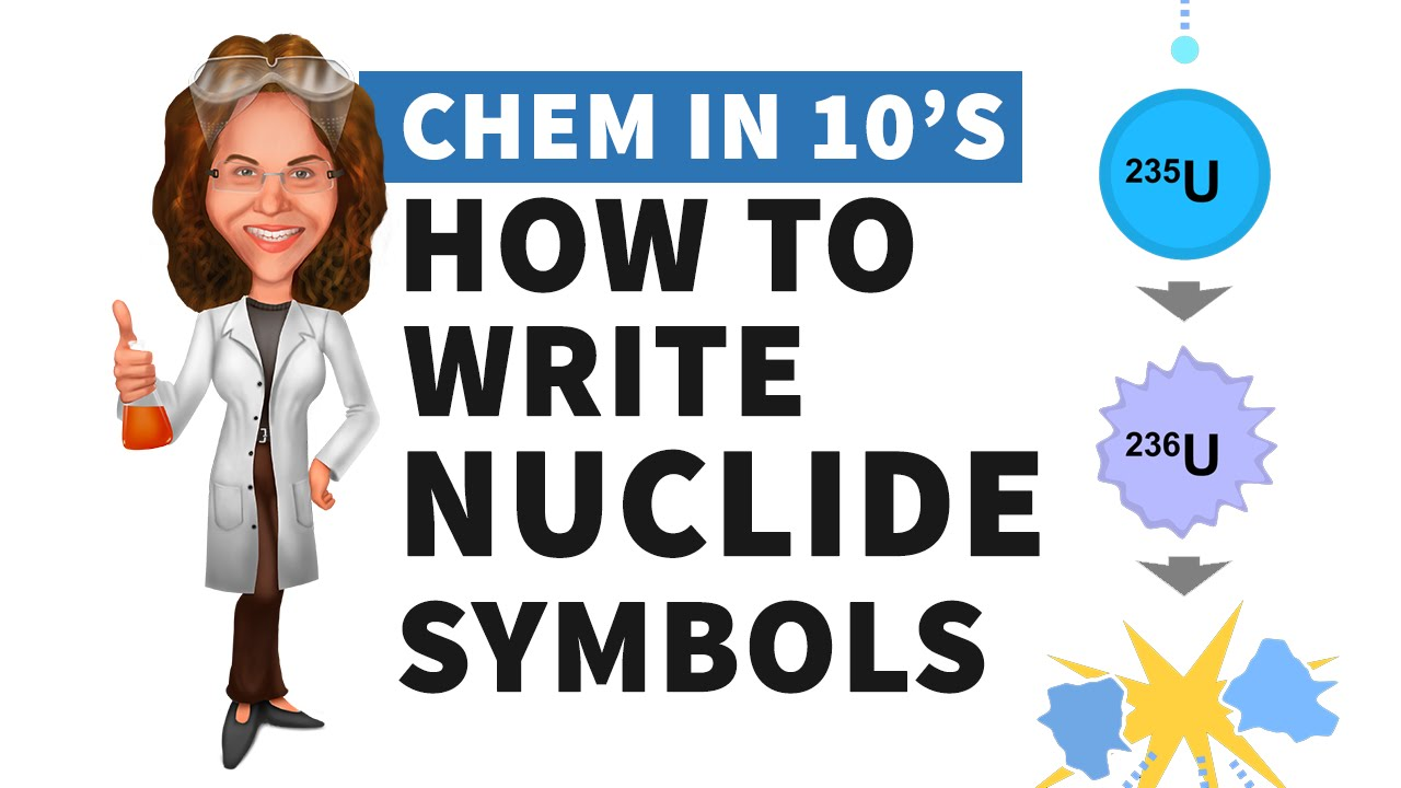 How to write nuclide symbols youtube how to write nuclide symbols biocorpaavc Gallery