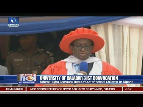 NDDC Boss Decries Poor Funding Of Nigerian Universities Pt 3 | News@10 |