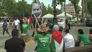 ماكرون يستقبل نتنياهو ويدعو لاستئناف عملية السلام