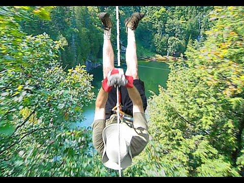 Extreme Zipline Adventure! - Lafleche Park