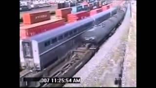 Смертельные.  Аварии с поездами(Каждый день мы пользуемся общественным транспортом, хоть это трамвай, поезд или маршрутное такси, это не..., 2014-05-15T17:56:38.000Z)
