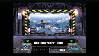 PlayStation Underground Jampack Winter 2000 Part 1 - Cool Boarders 2001