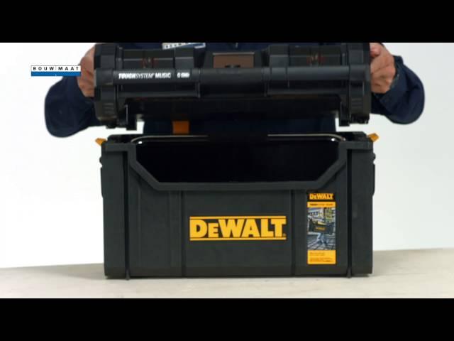 DeWalt Tough System DAB Radio Speedreview