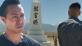 Japanese Americans Visit A WW2 Incarceration Camp