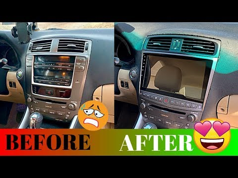 HOW TO COMPLETELY TRANSFORM YOUR DRIVING EXPERIENCE! Lexus IS250 & IS350 Head Unit Install Tutorial