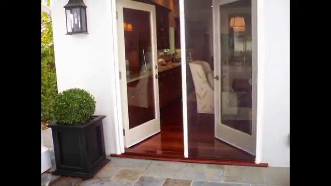 Retractable screen doors by youtube for Retractable screen door home depot